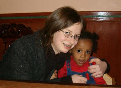 Sarah and Zi